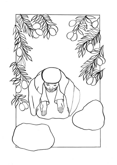 Ježíšova modlitba v Getsemanské zahradě / Velikonoce