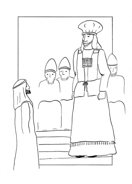 Ježíš před židovskou veleradou / Velikonoce