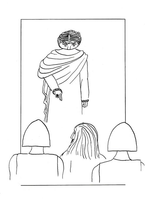 Ježíš před Pilátem / Velikonoce