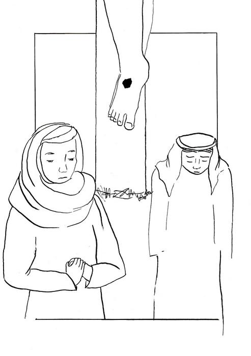 Maria – matka Ježíšova pod křížem / Velikonoce