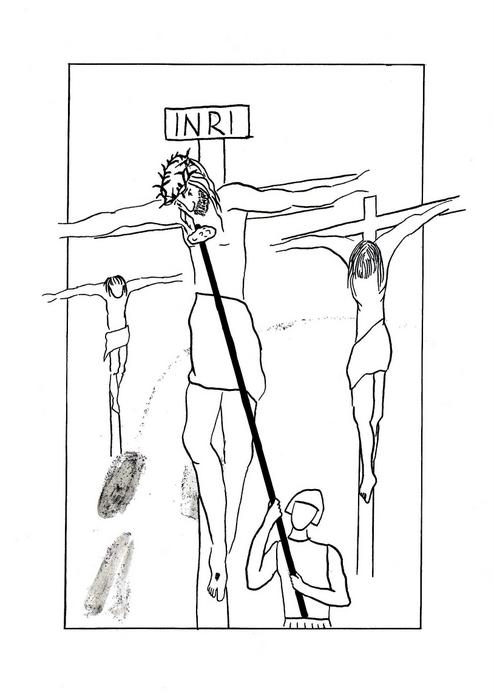 Žízním / Ježíšovi dávají pít ocet / Velikonoce