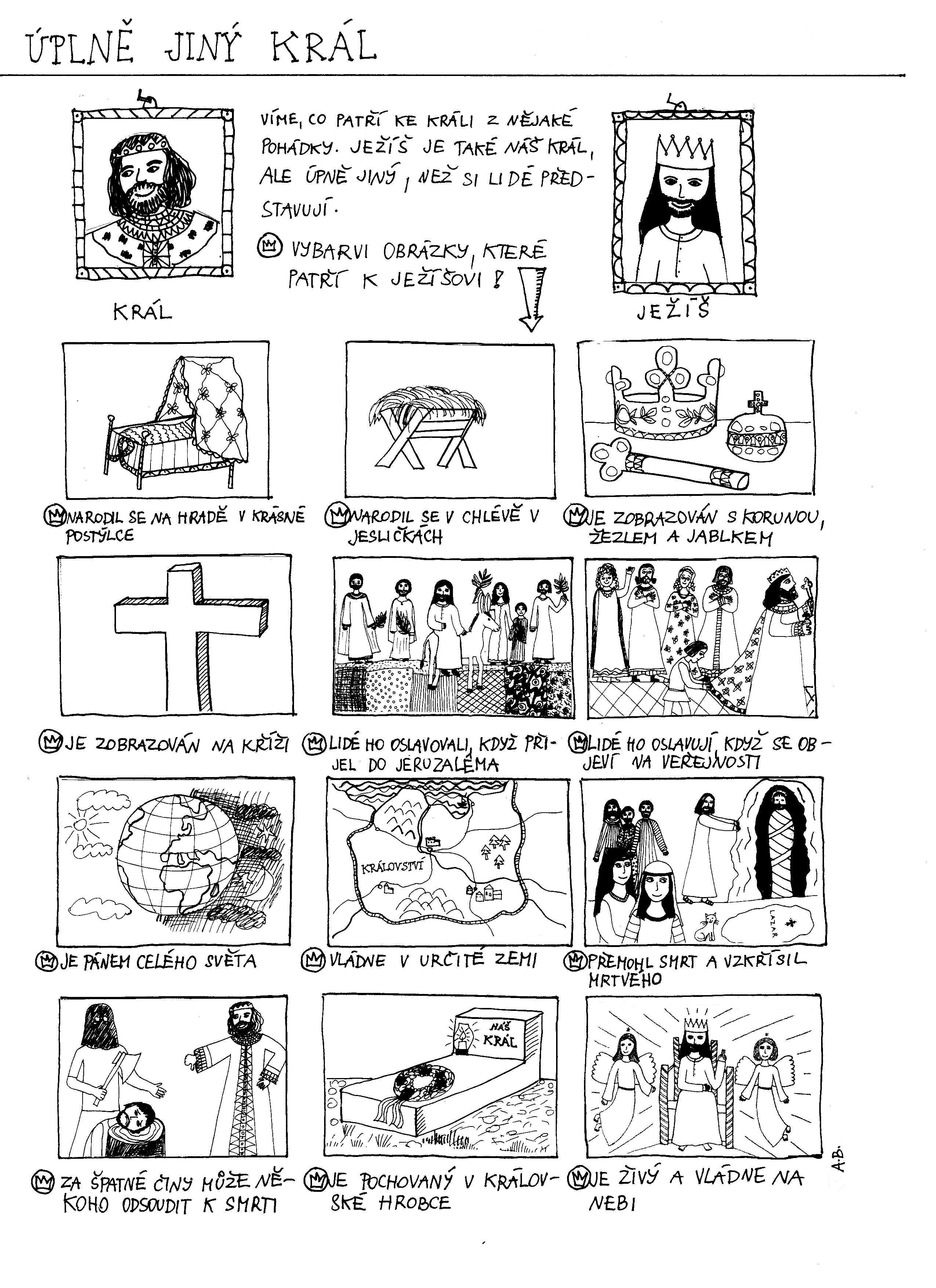 Slavnost Jezise Krista Krale Nove Pracovni Listy