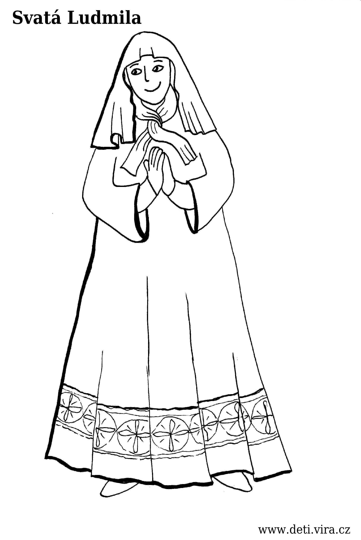 Svata Ludmila Pracovni Listy Pro Deti