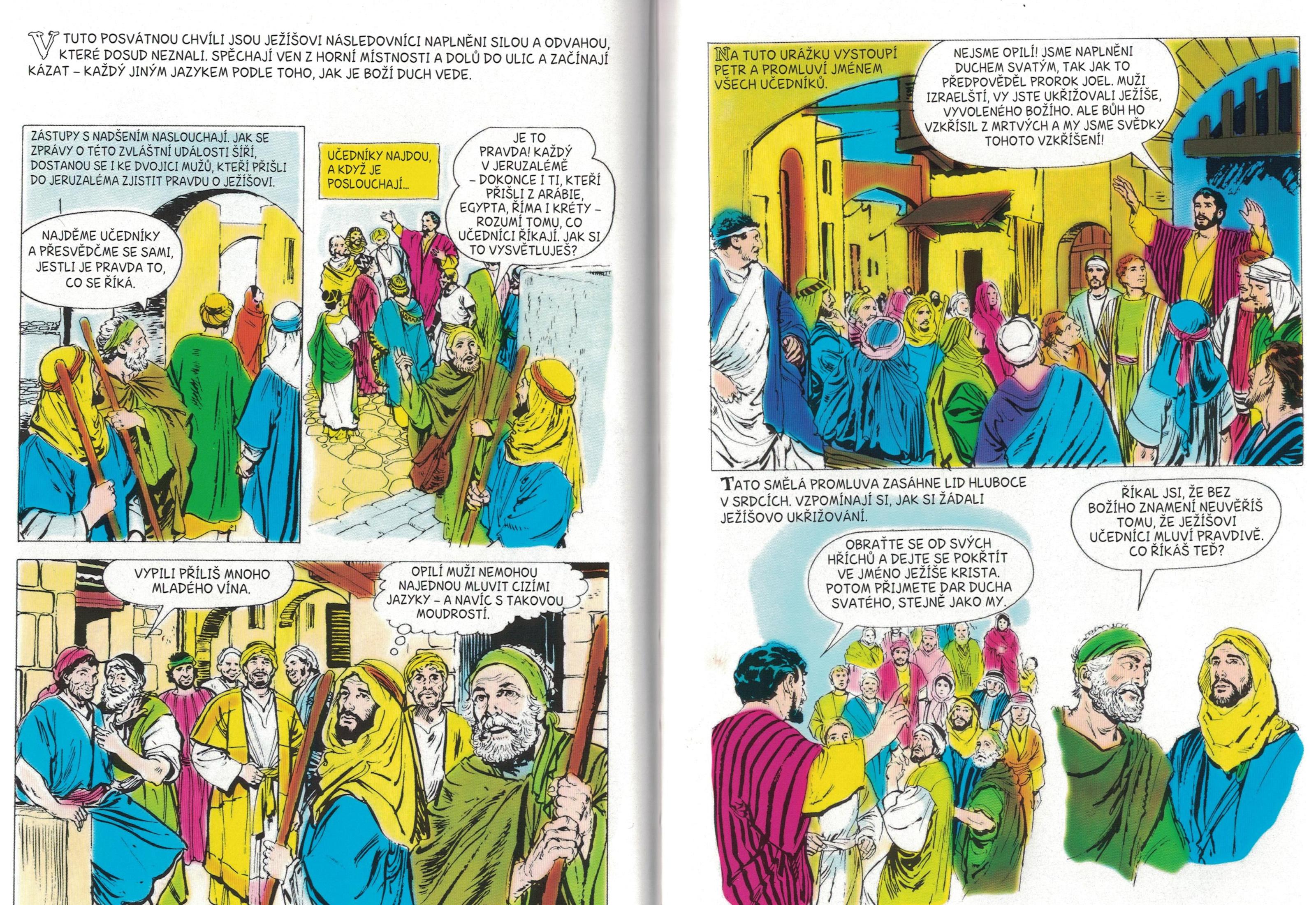 Seslani Ducha Svateho Pracovni Listy