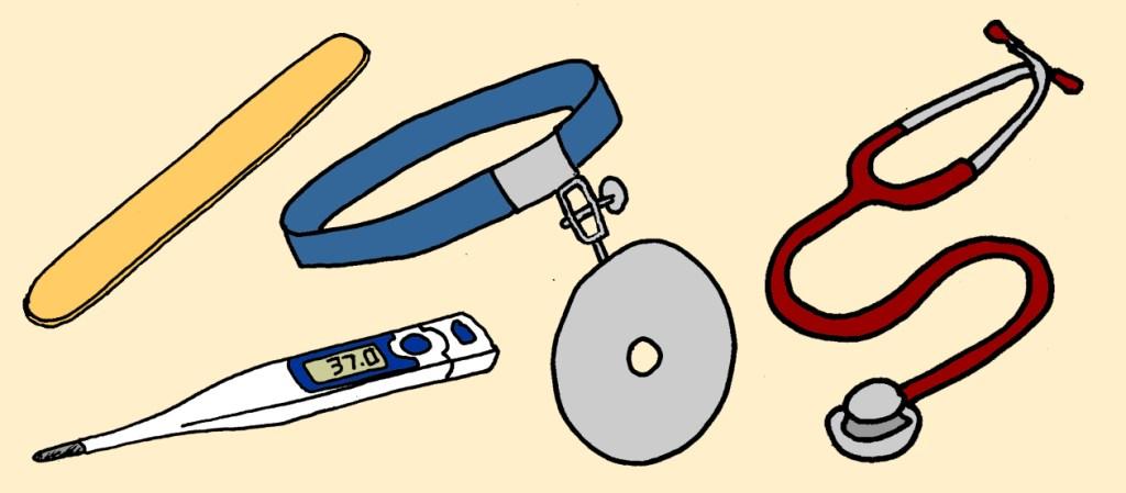 lékařské nástroje Moscati