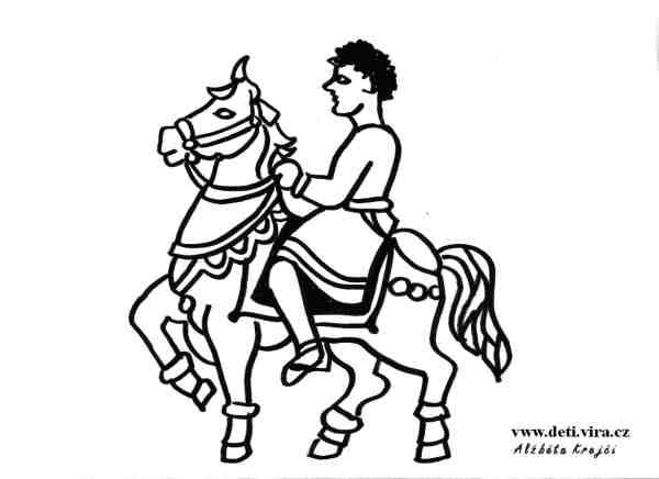 sv. Martin na koni